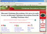 Christmas Decorations Cheaper